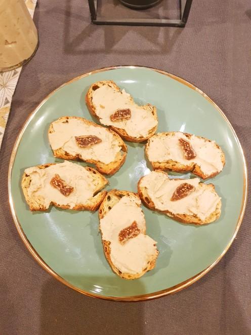 houmous faux foie gras