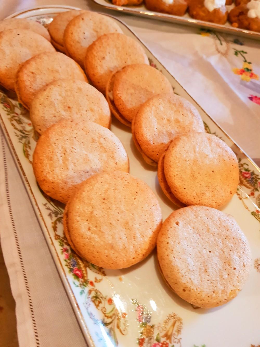 Macaron pain d'épice foie gras