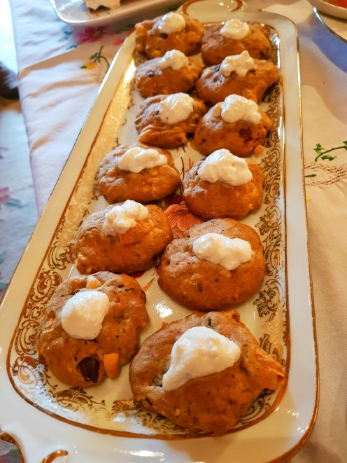 cookie chèvre noix