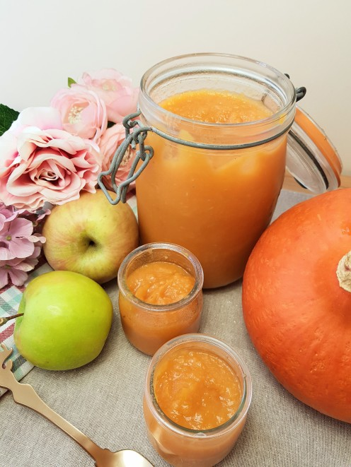 Compote pomme orange potiron - potimarron - citrouille