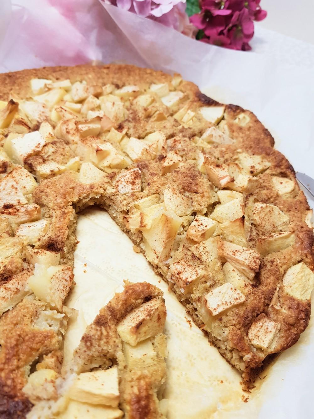 Galette aux pommes - gâteau pommes et amande