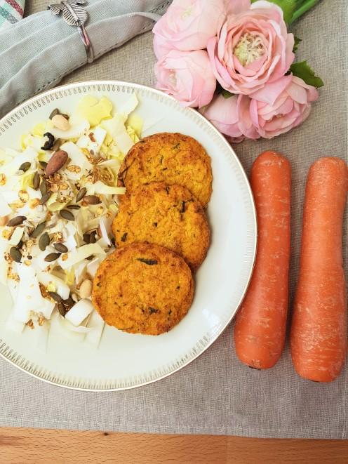 Galette de carotte