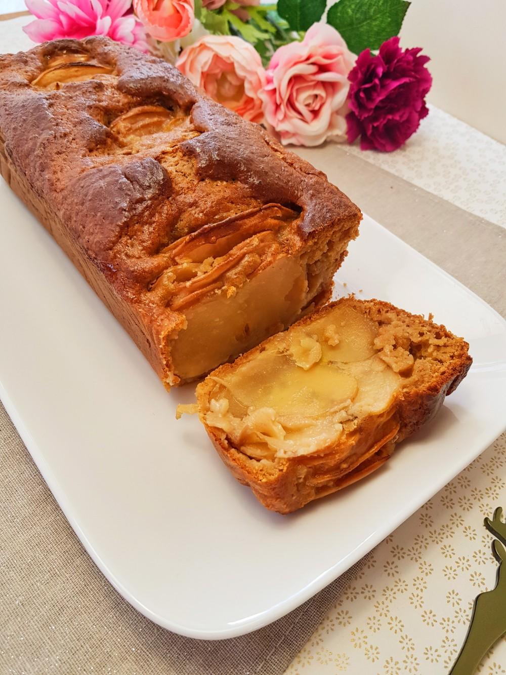 Cake aux mille feuilles aux pommes