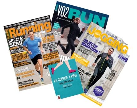 Magazine de course à pieds - run - presse