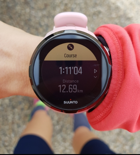 Chrono de la course - montre suunto