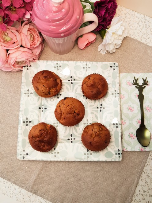 Muffins Pomme Chocolat