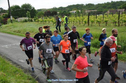 Run - course à pieds - foulée salvadorienne - saint sauveur de bergerac