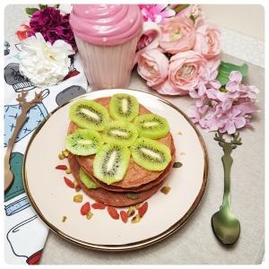 Pancakes Betterave