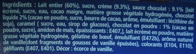 mousse au chocolat la létierre